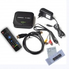 Ditter M25 Quad-Core Android 4.2.2 Googlen TV Player w / 1GB RAM, 8GB ROM, 6-Axis Air Mouse, EU Plug