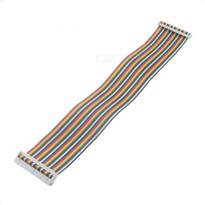 40-Pin Data Cable for Raspberry PI B+ - Multi-color (30cm)