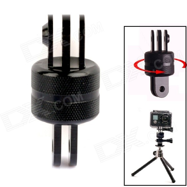 SMJ G-641 360 Degree Rotation Sport Camera CNC Connector for GoPro Hero 2 / 3 / 3+ / SJ4000