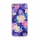 Kinston Color Floral Leaf Rhinestone Pattern TPU Soft Case for IPHONE 6 4.7""