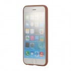 "ROCK Pattern Series Protective TPU + PU Leather Back Case for IPHONE 6 4.7"" - Champagne Gold"