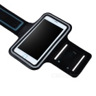 "IPB-i601 Outdoor Sports PU Leather + Elastic Fiber Armband for IPHONE 6 4.7"" - Black"