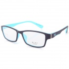 G8209 C6 Stylish Lightweight TR90 Frame PC Lens Sports Optical Eyeglasses - Black + Blue