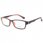 G8209 C1 Stylish Lightweight TR90 Frame PC Lens Sports Optical Eyeglasses - Black + Red