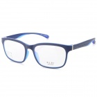 Fashionable Light Weight TR90 Glasses Frame - Black + Blue