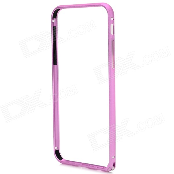 "Protective Arc Shaped Aluminum Hippocampus Buckle Bumper Frame for IPHONE 6 4.7"" - Pink"