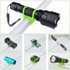 Outdoor Cycling Mountain Bike Silicone Tie Strap - Green