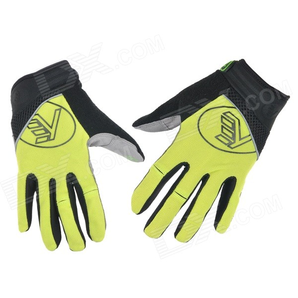 NUCKILY PD04 Sports Breathable Full-Finger Cycling Gloves - Yellow (Size M) антенна телевизионная harper advb 2120