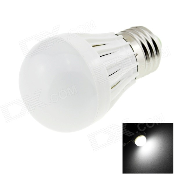 HONSCO E27-180-3W-W E27 2W 180lm 6500K 10-SMD 2835 LED Cool White Light Bulb - White (AC 220V)