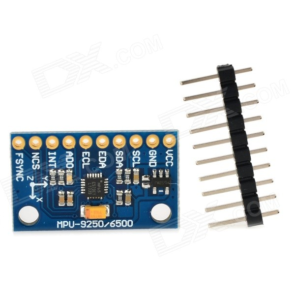 MPU6500 3-Axis Gyro + 3-Axis Accelerometer Sensor Module - Deep Blue imu 9 axis attitude sensor instead of 6050 9250 ahrs accelerometer gyro inertial 6 axis