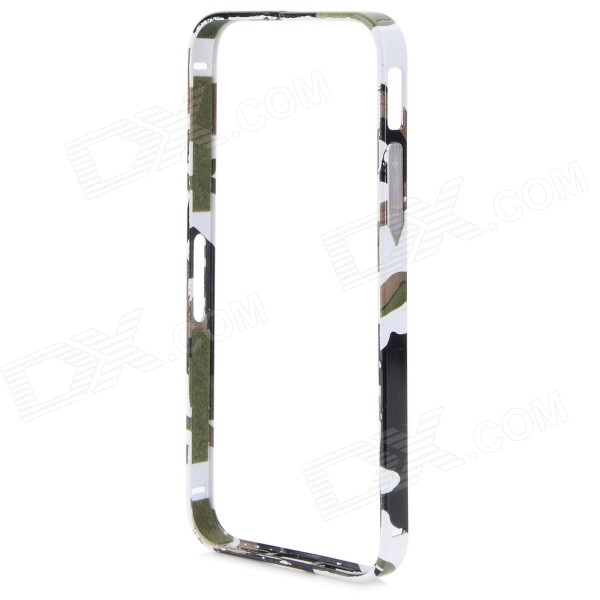 Protective Aluminum Alloy Bumper Frame Case for IPHONE 5 / 5S - White + Black protective aluminum alloy bumper frame case for iphone 5 5s black