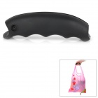 Silicone Holding Handle - Black