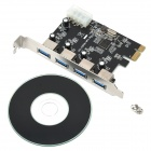ULANSON PCIE USB 3.0 4-Port Expansion Card
