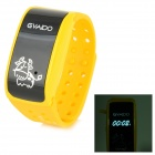 "G1000 0.7"" Screen Babies Kids Safety Positioning Wrist Band GPS Tracker - Yellow"