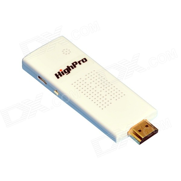 HighPro HDMI inalámbrica Wi-Fi TV Dongle Airplay Miracast receptor de la exhibición - blanco