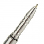 EDCGEAR Outdoor Black Refill Survival 304 Stainless Steel No. 2 Mini Pen - Silver