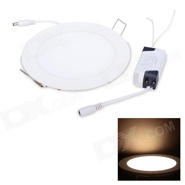 JoYda M180Y 12W 1180lm 3200K 60-2835 SMD LED Warm White Light Ceiling Lamp - White (AC 85~260V) joyda h12nu e27 12w 1500lm 4100k 60 smd 2835 led white light steering wheel lamp white ac 220v