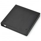 MAIWO K520 Portable USB 2.0 DVD RW External Optical Drive Case - Black