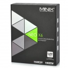 Minix NEO X6 Google TV Player m / 1 GB RAM, 8 GB ROM, USA Plugss - Sort