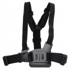 HTL-308 Chest Strap w/ 3-way Adjustment Base for GoPro Hero 3+ / 3 / 2 / 1 - Black
