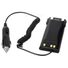 Walkie Talkie Car Charger for BaoFeng / Negaxun / Linton - Black (12~24V)