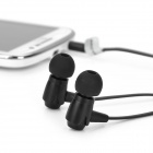 VYKON MK-4 Bass Stereo In-Ear Earphones w/ Microphone / Cable Control for Samsung - Black