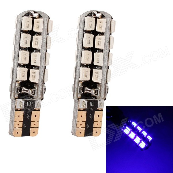 MZ T10 5W 320lm 32-SMD 3535 LED Blue Light Car Clearance Lamp / Signal Light (12V / 2 PCS)