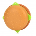 Hamburger Style MP3 Player w/ TF Slot / Mini USB - Light Brown + Green + Pink
