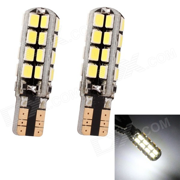 MZ T10 5W 320lm 32-SMD 3535 LED White Light Car Clearance Lamp / Signal Light (2 PCS / 12V)