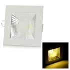 Buy 5W 450lm 3500K COB LED Warm White Light Ceiling Lamp - + Silvery Grey (AC 90~265V)