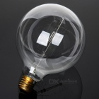 MLSLED E27 40W 260lm Warm White Tungsten Filament Bulb - Yellow + Transparent (AC 230V)
