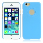"Hat-Prince Heart-Shape Camera Hole Protective Plastic Back Case for 4.7"" IPHONE 6 - Blue"