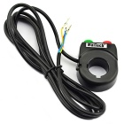 MaiTech Universal Motorcycle Headlight & Horn Switch Handlebar Controller - Black + Red + Green
