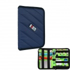 BUBM YS Waterproof Multipurpose Portable Digital Accessories Storage Bag - Royalblue (Size S)