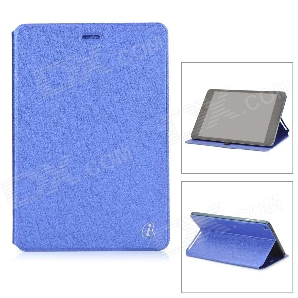Protective Flip-open PU Leather Case w/ Stand for Cube Talk79 - Blue ocube full body pu leather protective case for cube talk 11