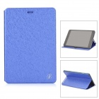 Protective Flip-open PU Leather Case w/ Stand for Cube Talk79 - Blue