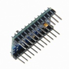 Geeetech Iduino Nano Mini168 ATmega168 5V 16MHz Microcontroller Board for Arduino - Blue