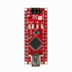 Geeetech Iduino Nano 168 Atmega168 5V 16MHz Microcontroller Board for Arduino - Red