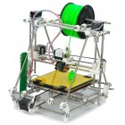Heacent 3DP04 RepRap Prusa Mendel 3D Printer Assembly Kit w/ 0.4mm Nozzle / 1.75mm Filament - White