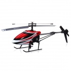 MJX F49 2.4G 4-CH Single-Blade R/C Helicopter Toy w/ Videography Function - Red + White + Black