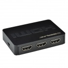 CHEERLINK 3-en-1 de salida HDMI 1.4a 3D mini-switcher - negro (1 * CR2025)
