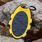 SP5000A Universal Waterproof + Shockproof + Dustproof 5000mA Solar Powered Li-ion Battery Power Bank