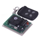 ZnDiy-BRY DC 12V 4-CH Learning Code Remote Control Switch Kit - Black