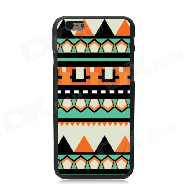 Elonbo Contrast Color Patterned Plastic Hard Back Cover Case for IPHONE 6 4.7 - Multicolored fierce tiger hard case cover for iphone 6s 6 4 7 inch