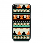 "Elonbo Contrast Color Patterned Plastic Hard Back Cover Case for IPHONE 6 4.7"" - Multicolored"