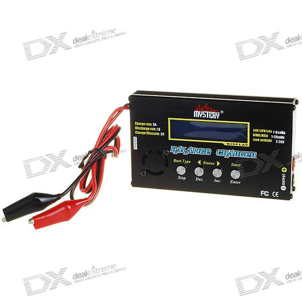 "2.5"" LCD Digital Balance Charger (1~6 Cell Lithium / 1~15 Cell NiCD/NiMH)"