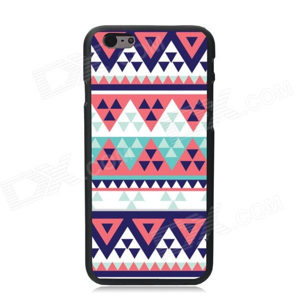 Elonbo Beautiful Triangle Plastic Hard Back Cover for IPHONE 6 4.7 inch