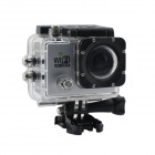 "12.0 MP 2"" LCD 2/3 CMOS 1080P Full HD Wi-Fi Outdoor Sports Digital Video Camera - Silver"