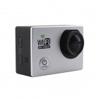 "12.0 MP 2 ""LCD 2/3 CMOS 1080p Full HD WiFi Outdoor Sports Digital Video Camera - Zilver"