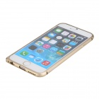 "ROCK Aluminum Alloy Protective Bumper Frame Case for IPhone 6 4.7"" - Champaign Gold"